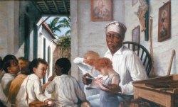 La escuela del Maestro Cordero de Francisco Oller