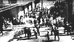 Actual photo of the Ponce Massacre by El Imparcial journalist Carlos Torres Morales.