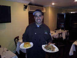 Chef Eddie Cotto Jr. owner of the only Puerto Rican cuisine restaurant in Jersey City, New Jersey Me Casa.